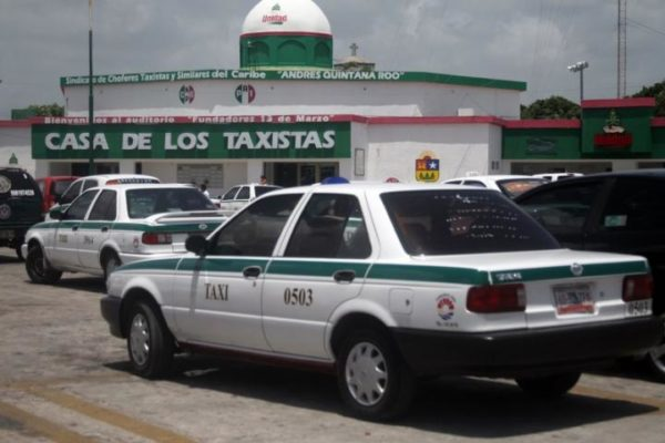 Taxi Dirvers Union in Cancun, (Photo: Google)