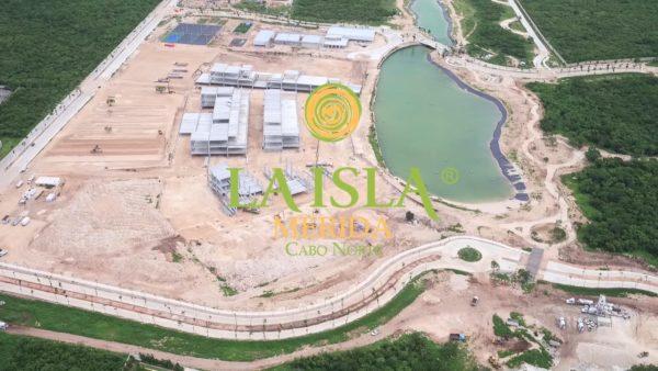 The Island Merida North Cape, under construction (Image: Google)