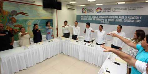 Announcement of the Council for Animal Welfare. Photo: Noticias Quintana Roo