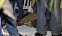 Cancun murder scene.  (PHOTO: nydailynews.com)
