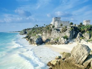 Tulum ruins, Quintana Roo. PHOTO: Getty Images via Conde Nast Traveler magazine.