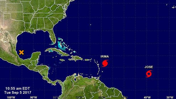 hurricane irma followed closely by second storm in the atlantichurricane irma u2014 a category 5 storm u2014 could cause catastrophic damage if it strikes the florida keys and southern florida this weekend, and a second storm