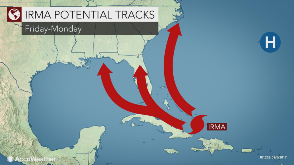 category 5 u0027irmau0027 aims for florida; state of emergency declaredmiami u2014 powerful irma hit maximum category 5 status early tuesday sept 5, with a hurricane hunter plane measuring winds topping 175 mph, national hurricane