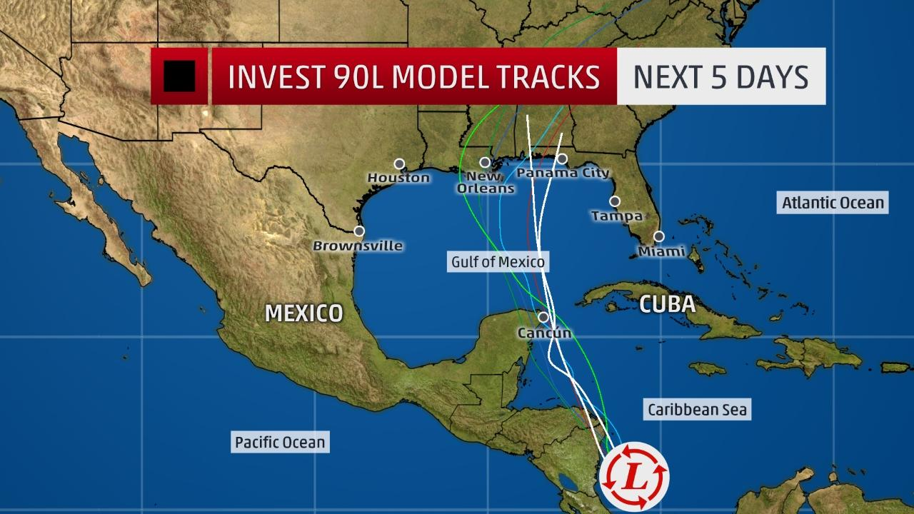 Tropical disturbance will bring heavy rains to yucatan the forecasters are watching closely a tropical weather system in the southwestern caribbean sea that will very likely bring heavy rains to the yucatan gumiabroncs Gallery