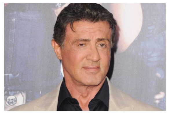 Sylvester Stallone packed and ready to take on Mexican