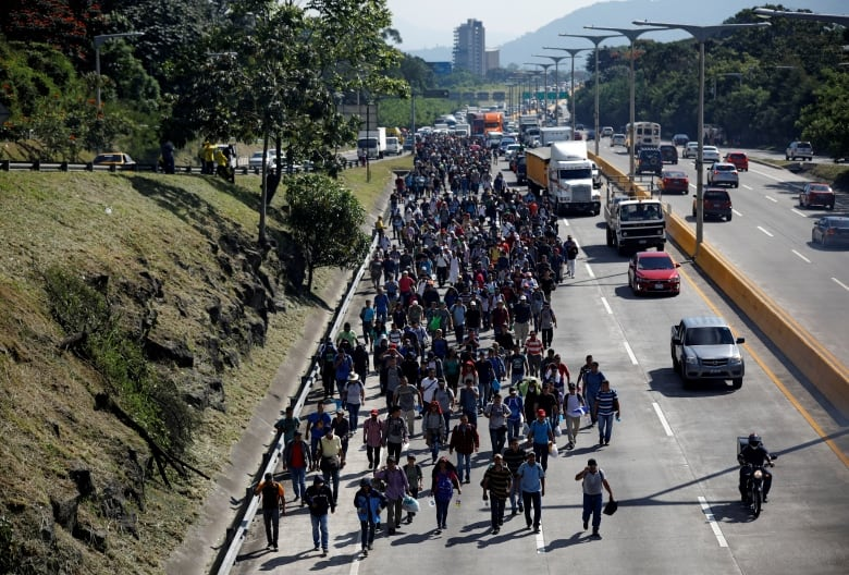 Trump The Migrant Caravan Is An Invasion Because I