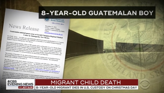 8-Year-Old Who Died in Border Control Custody Had the Flu