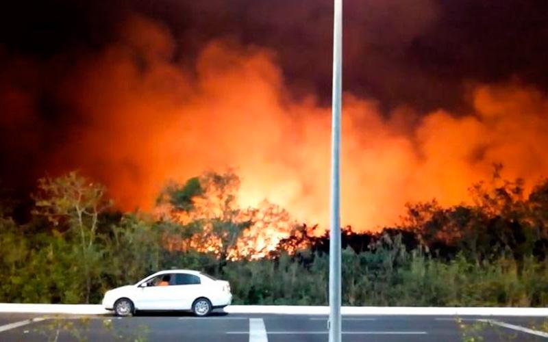 Campeche fire