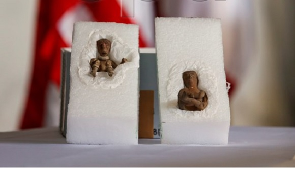 Mexico recovers valuable archeology pieces with the help of