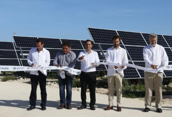 First Solar Energy Plant in Yucatán inaugurated by governor